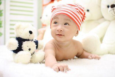 bébé colique position