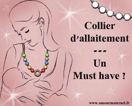 collier d'allaitement