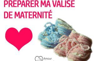 valise maternité maman bébé préparation