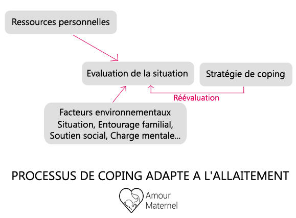 allaitement et fatigue_processus de coping