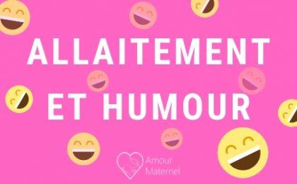 allaitement humour
