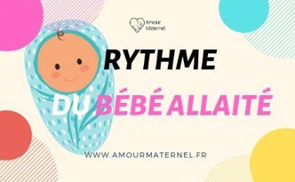 rythme bébé allaité